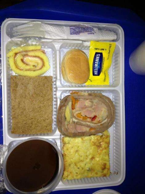 They even give you food on the buses!