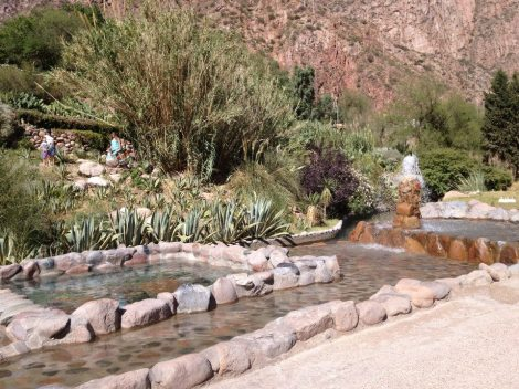 Cacheuta hot springs