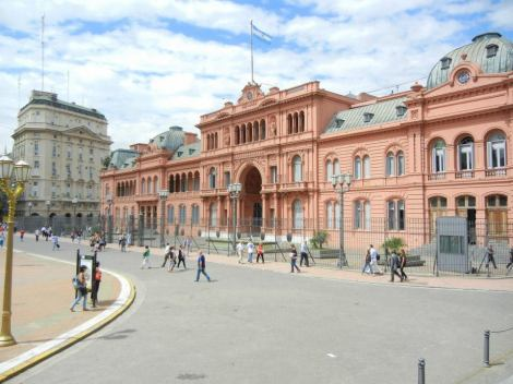 Casa Rosada, the President's Mansion