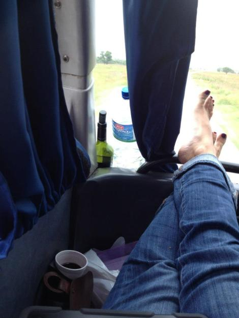 The 17 hour bus ride from Salta to Mendoza was probably the best bus ride I have ever been on!