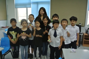 My international school class in China