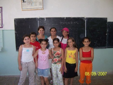 Some of my favorite summer school students in Azerbaijan