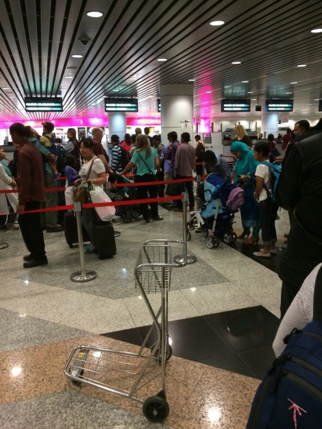 Want to avoid the long lines at immigration? Photo Cred https://www.flickr.com/photos/hendry/11301436186#