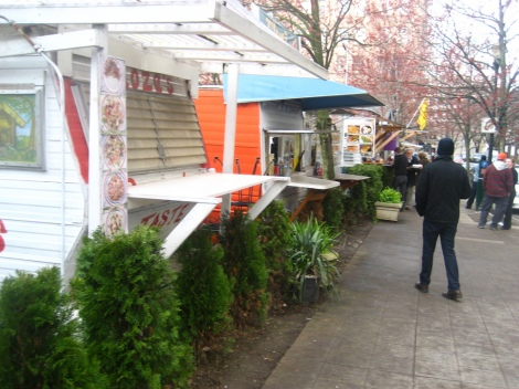 I probably miss the cheap and delicious food from the food carts the most. Photo Cred