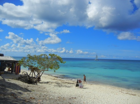 Quick snapshot I took of the beach at Bayahibe