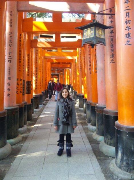 Sarah at Nara