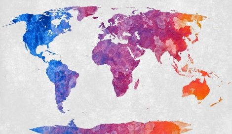 The world is a great teacher photo cred http://freestock.ca/flags_maps_g80-world_map__abstract_acrylic_p2970.html