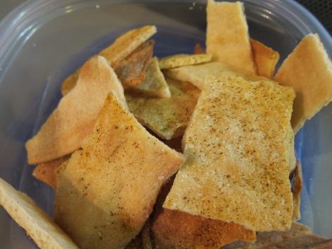 Lavash chips