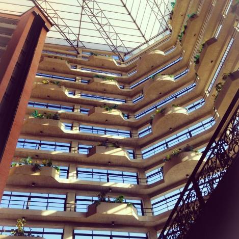 Embassy Suites lobby in Valencia, Venezuela