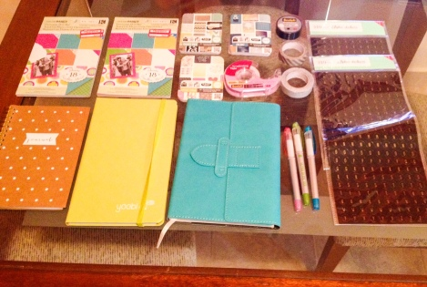 These are my journaling tools!