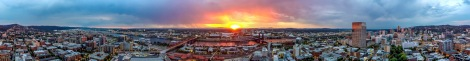 Portland, Oregon skyline showcasing a few of our 11 bridges. Photo cred https://www.flickr.com/photos/twelvizm/14803244832