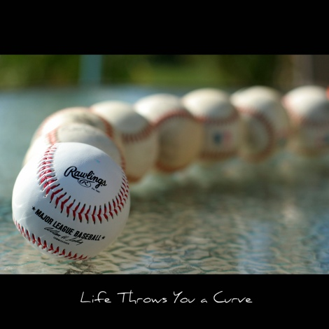 What do you do when life throws you a curve ball? Photo cred: https://www.flickr.com/photos/aidanmorgan/5444096544/in/photolist-6qF7AL-b5MMit-7vBa2x-9i5qew-76X1cY-oYpDj-8EWHyq-5R4Sxr-7KUCM6-edZhwN-8ZQwbt-5xYx56-9u7vV4-e6KW3z-e6RzhW-4R5r8i-4R5rGT-4R5sEK-4R9EiA-ayVsSS-edZvky-edTNwR-edTP5e-edTzAD-edTNYn-edTyav-edZkoL-edZjUu-edZkg9-edZk1w-edTygP-edZk8J-edZvHG-edZtHf-edTNr2-edTMke-edZtzq-edZuNd-63WxFt-edTAfP-edZf7Y-edZn4Q-edZf19-edTGeR-edTFaF-edZrdG-edTvVX-edZo3m-edTEX8-edZkuy