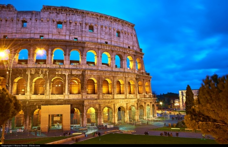 Roman Coliseum Photo by Moyan Brenn on Flickr https://www.flickr.com/photos/aigle_dore/8609333271