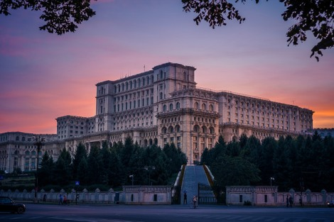 The gigantic Parliament building in Bucharest Photo cred https://www.flickr.com/photos/73767885@N00/15118640780/in/photolist-91VzbA-8X6R22-8X6TiB-gGTwD-2995v-4F3yN7-ju51TB-U6hhf-cuQEyb-nCBbLp-p2YZbm-5fs6tM-2EMrAJ-ddMBW7-7KCxNG-68ALoL-3cjpJY-jgthz-9qJFa-o4jS44-91SsrH-2aqrtf-6cMSF9-g5XTY9-h9dYfG-ddNQs9-ddMD1G-51Kvd8-ddMEih-5gG2Sp-kvUB9G-jtc5Xb-khxfq7-ddMB6o-nUfxDj-nZACSL-98qPVH-omFadB-4p32FX-nV1Mwu-i6gjYZ-igUjPN-o9a3w5-jzvyrD-2997w-91SsAg-91SsPp-9efFPu-4v2hwx-4v2hAR