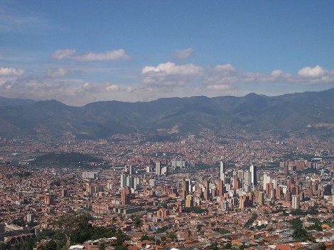 Medellin photo cred https://www.flickr.com/photos/72494726@N00/280693114