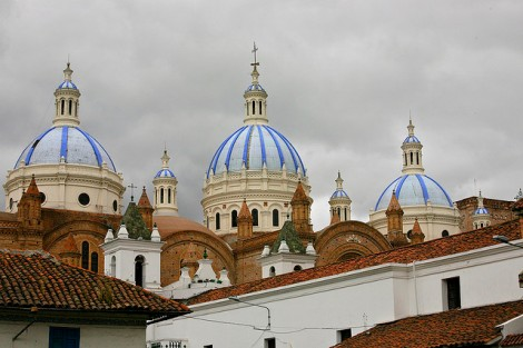Catedral de la Inmaculada Concepcion, Cuenca, Ecuador Photo cred https://www.flickr.com/photos/proimos/3964966114/in/photolist-nrFX7p-nUxv7Q-o8Gzsa-73n239-nWpK7M-73nuhJ-58hfgJ-naf2Wt-qrX1RQ-ovsR6D-7q8VyU-pWBCua-ogr12b-oraDPv-75hjQi-4QtAfh-oQhQFi-oramvU-ogzH5f-6U4jsY-dTLH2G-7Loo6d-qaCYMG-nXT5ru-7hiMwB-7hnJC3-7CnD2F-nFQmq5-n5QupS-7i9e5b-9AcDmm-qrkhMn-oQhQGb-58d6BP-n5NoUg-c3eew-n5Q3cm-pBy3xf-e7XP74-o58fs9-9AcDo9-eBJ7rh-7hiMj8-q8VNVb-q87sUx-n5MvRe-6QQQx9-axAr22-6U4iGu-7muRHw