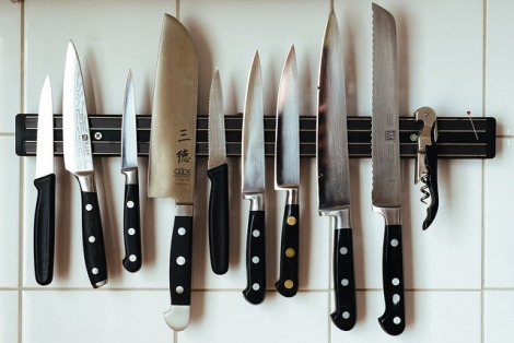 Good knives are essential in my kitchen. Photo https://www.flickr.com/photos/stijnnieuwendijk/15235778025/in/photolist-5YFzSk-rRueB-9Ki5B4-fstqc9-9quRcR-mjrqz-pwkNzA-2MjPp-5sD4Q6-5sD4N8-5sHsmU-5sD4Mz-5sD4PD-5sHskJ-kmLU-2Yvy9-tQYg-46Hfv-2HAnk-5XAyr-5sHsiS-5sD4NK-5sHskf-LsGxT-eqj4L-eWb7vT-5R12E7-8qXFXB-5SzGLP-5cNP62-pdkm12-5LYs9A-7grFEn-3Y75F-5TsT2C-83yiFf-2K34p-2K33c-2K32a-cqVbZq-4xedqk-5neT9U-eMjtH-9gfAHT-6dcta-7oKjrB-gziG-mt1kpV-bHaP8t-bug1rE