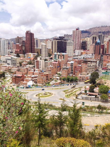 The view from El Mirador above the Parque Central isn't too bad either