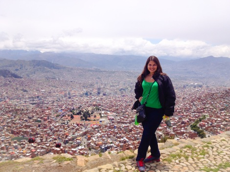 After taking the teleferico to El Alto on a sunny day I found a nicer view