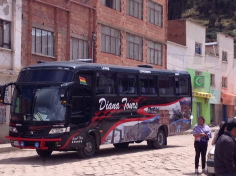 My second bus that finally delivered me all of the way to La Paz