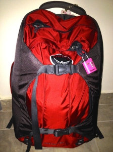 Osprey Porter 46- My constant companion as I backpack across Europe