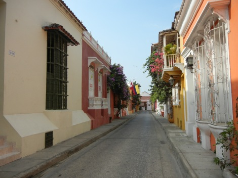 Early morning Cartagena before all the tourists were awake