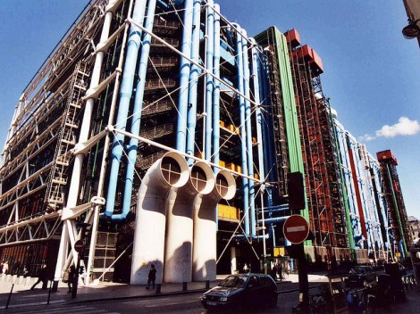 The Pompidou Museum photo cred https://www.flickr.com/photos/andylangager/3113150053/in/photolist-5K6H3V-2aPwvU-iHBLxR-gbZMn-JBkuL-2aPx1C-iHEkx5-8ykdw7-u53og-GEh6e-GEe3t-GEdsP-5KY1py-cHhAR9-cFYrph-GEfCh-GEhsB-dNvS9-dNv5k-dNvZc-oSz5X-3ZPkZ7-dNvCz-dNvUT-dNveM-dNvA4-dNx1R-dNvN3-5KTLwH-51r8kN-oSz5G-9H5QVZ-9H8N2q-dNviy-8ig2ca-5RyvTY-51rdaw-51mYCp-51r8WY-51mWZe-51mZ9F-51ra4o-51mZRR-2huqAK-acY6aY-acY2Qu-acVcgc-acVnbx-acV582-2hyRgs