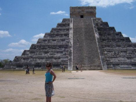 Me at Chichen Itza during Spring Break 2011
