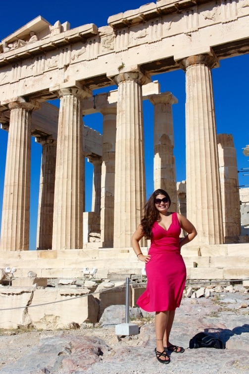 I loved Greece and visiting the Parthenon was a dream come true!