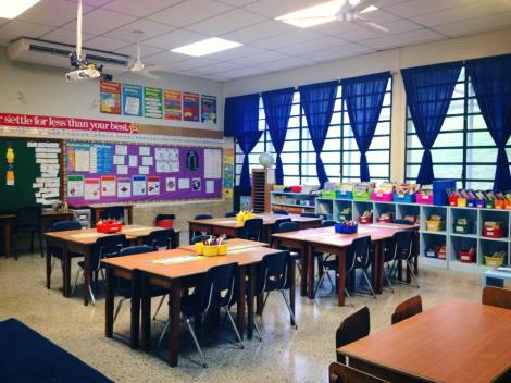 Spending a lot of time in my classroom during the first month of school!
