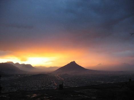 What a gorgeous view of Monterrey! Photo cred https://www.flickr.com/photos/ww4f/2056152329/in/photolist-48Gjse-7EweF-5WveJi-5A9W11-5A5DvF-7ExUC-5yKxgh-4vHunP-7EweD-7EweG-7ExUz-5A9UWA-5A5Dv4-LyNV-2wsGz-2V5uL-2V5wi-26AmU-2J9w9-edC9pk-5A5BAT-5A9TGf-5A9V1b-4yULum-4yQu2B-5A5BkT-5A5Cta-dabiTj-5A9VYL-5A5Bxr-4yQurR-5A5Bk2-5A5DAr-5A5Bet-5A5Cp4-5A5Cyp-5A5DyH-5A9TTh-5A9TNC-5A5Cxk-5A5Bpv-4yUKVj-5A5ByR-5A5Cvz-5A5Bvt-4yQv2t-5A5CwF-5A9TKs-4yULVw-4yUM7J
