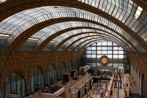 I loved the architecture of the Orsay Museum!