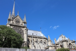 Here is a pic I took of Notre Dame from the water