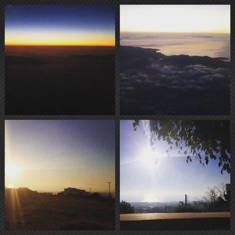 Sunrise in Fira
