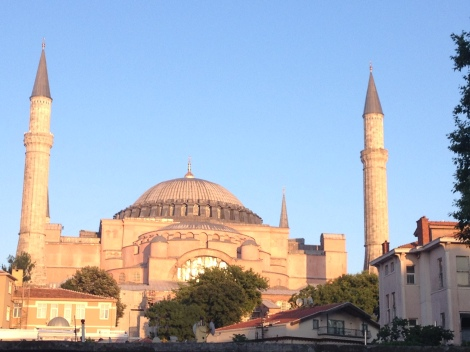 Just a block from my hostel is the gorgeous Aya Sofya