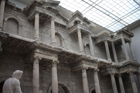 The Market Gate of Miletus at the Pergamon- This gate is just so massive!