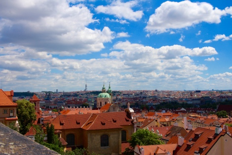 The view from Prague Castle