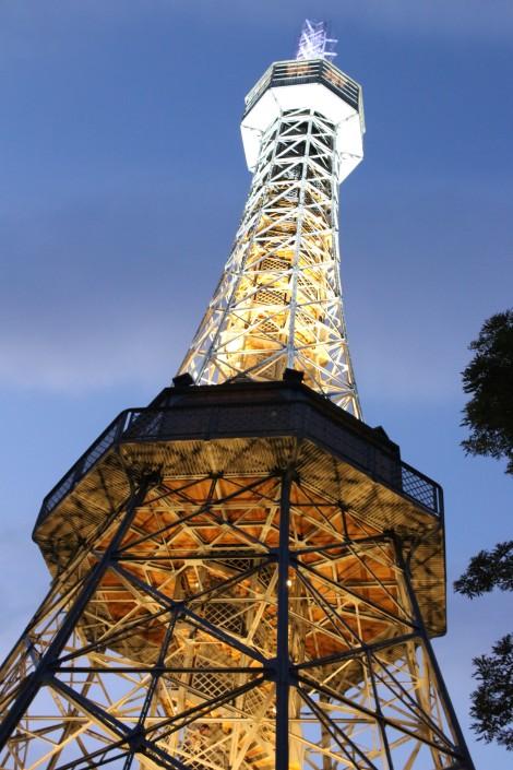 Petrin Tower at Night