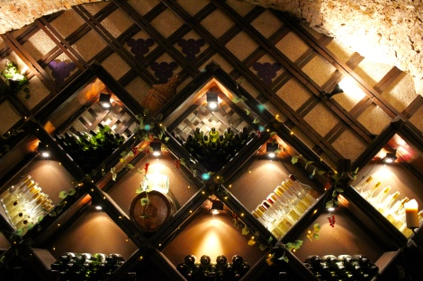 The lovely Faust Wine Cellar