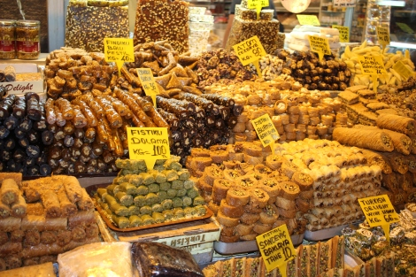 Taken in the Spice Bazaar, but it could be from many street corners