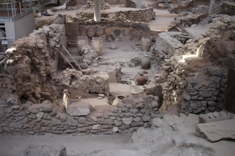 Skip Akrotiri if you have been to Pompeii, unless you really love piles of rocks
