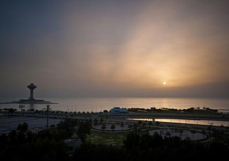 Sunrise at Al Khobar, KSA