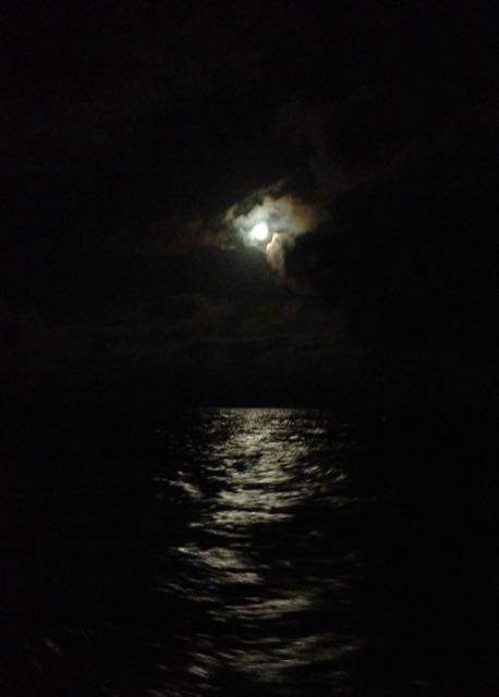 full moon on christmas