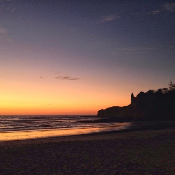 Last sunset in Montanita