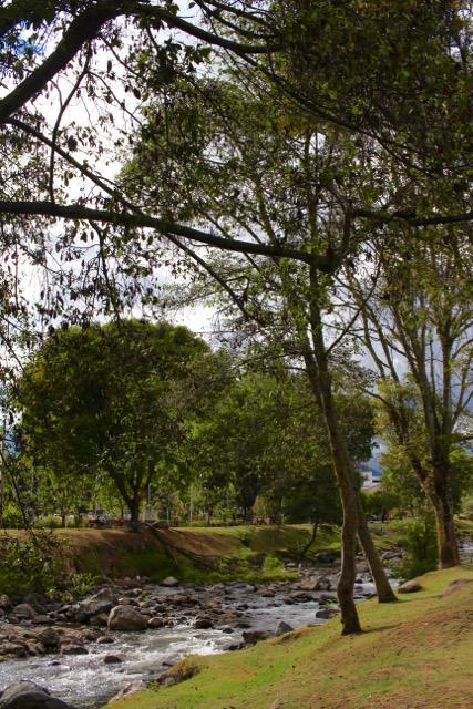 Cuenca river