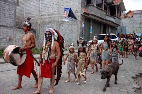 Chordeleg parade