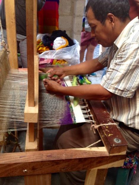 Otavalo weaver