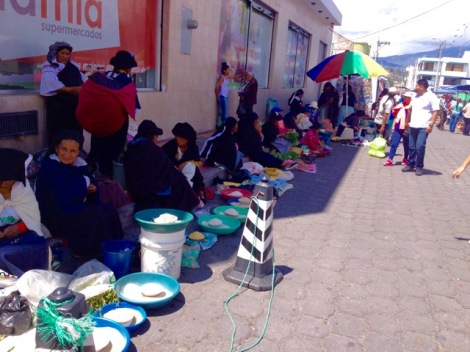 Otavalo seed ladies