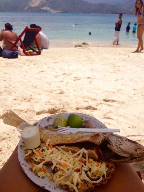 lunch at isla larga