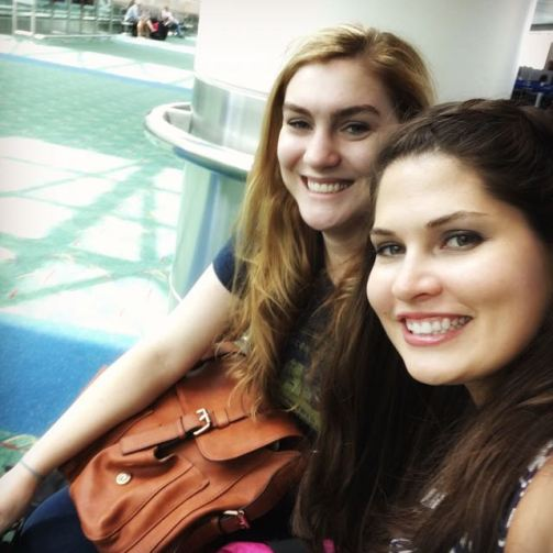 Maris and I